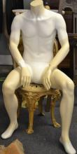 Seated Headless Mannequin