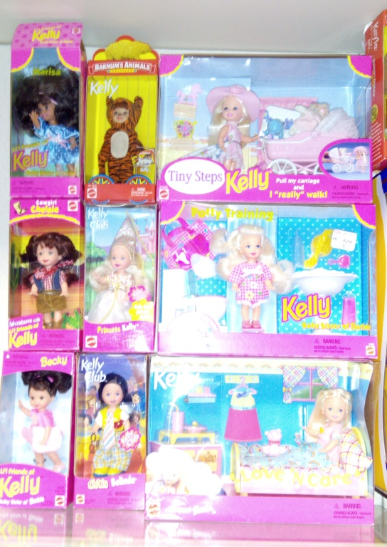 Collection of Barbies (Kelly)