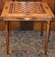 Folding Wooden Gaming Table