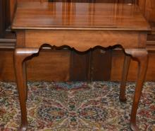 Lane Chippendale Style Table w/ Two slide Candle