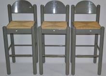 Three Breakfast Nook Chairs