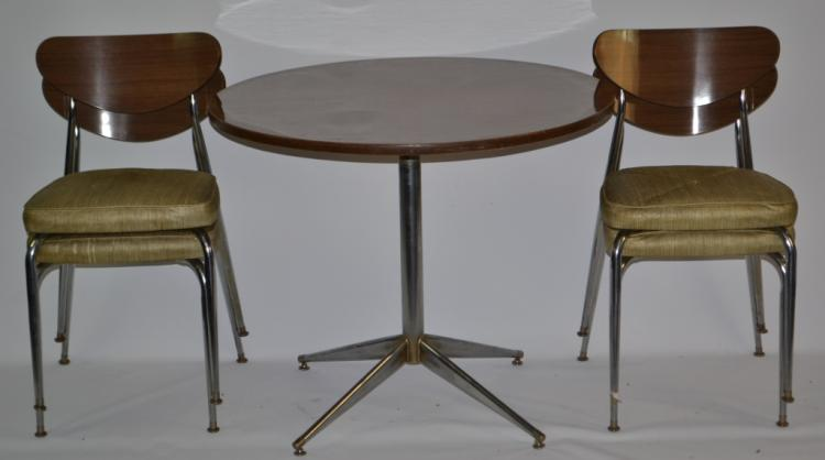 Mid Century Modern Kitchen Table Chairs