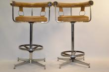 Two Daystrom Furniture Stools