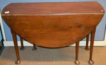 Queen Ann Period Mahogany Drop Leaf restorations to feet also repair need to one foot (loss)