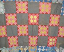 Vintage Patchwork Quilt Top