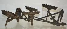 Two Victorian Double Oil Lamp Brackets