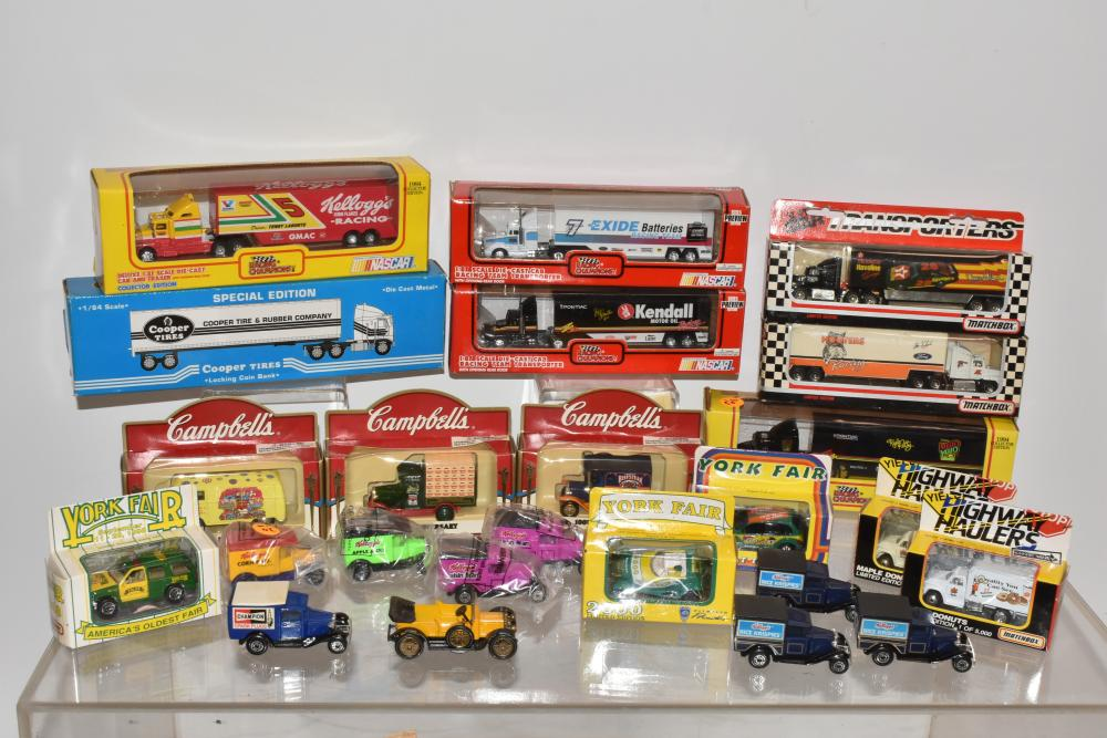 Nascar and Other Die Cast Vehicles