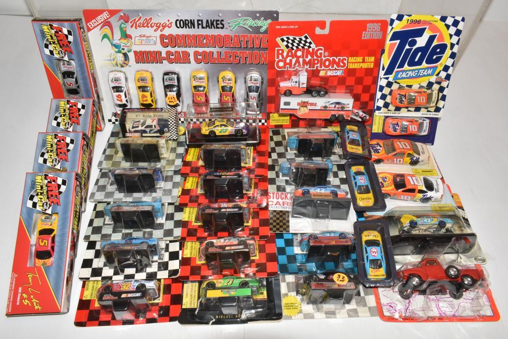 Nascar Miniature Die Cast Collection