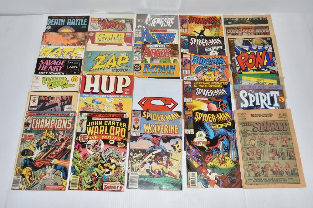 (25) Spider-Man and Various Comics