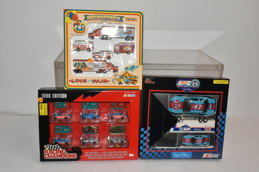 Nascar and Other Die Cast Sets
