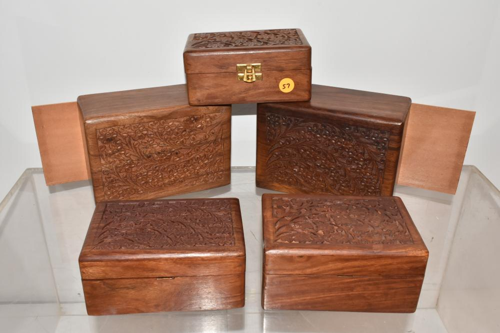 Vintage Group of Boxes
