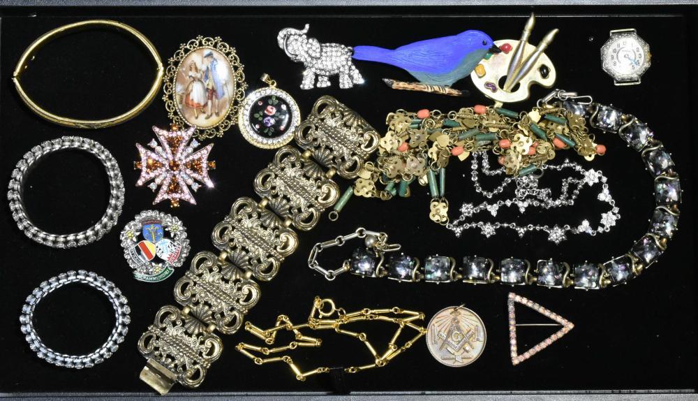 Vintage Estate Costume Jewelry