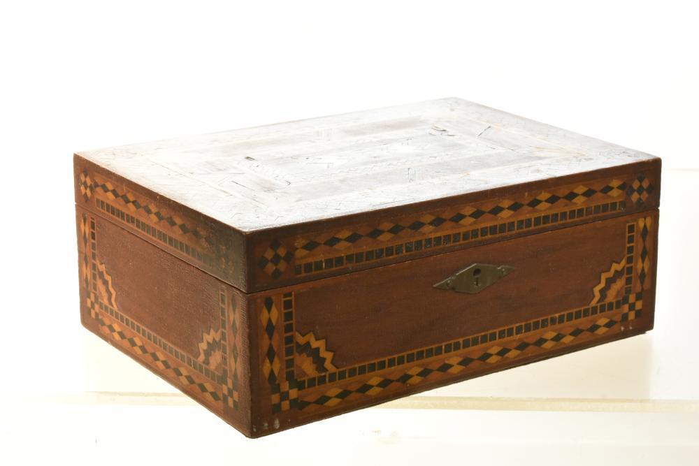 Fine Antique Jewelry box