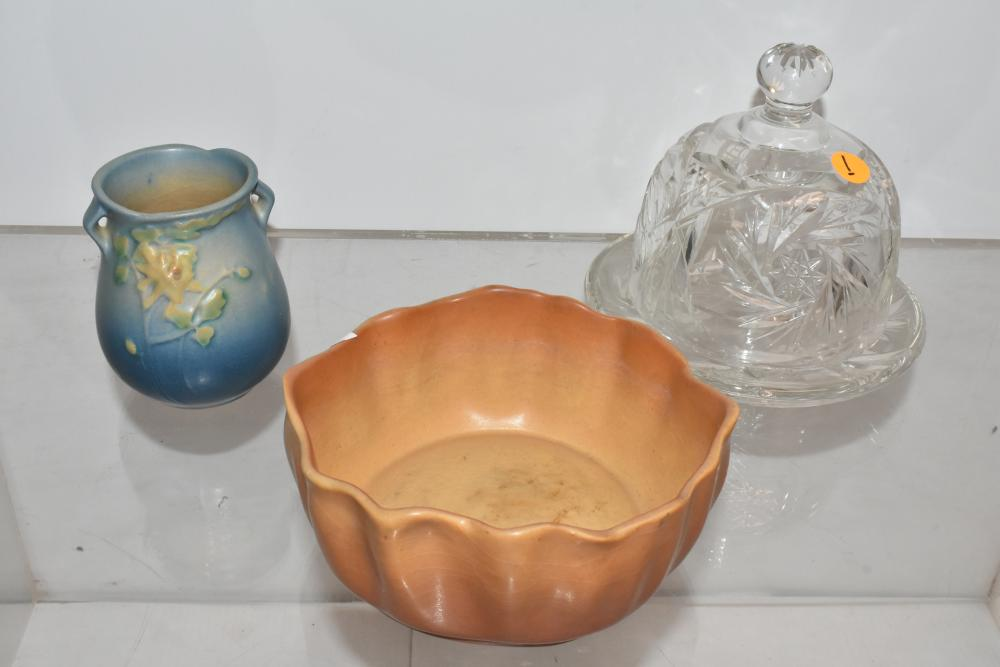 Roseville Pottery and More
