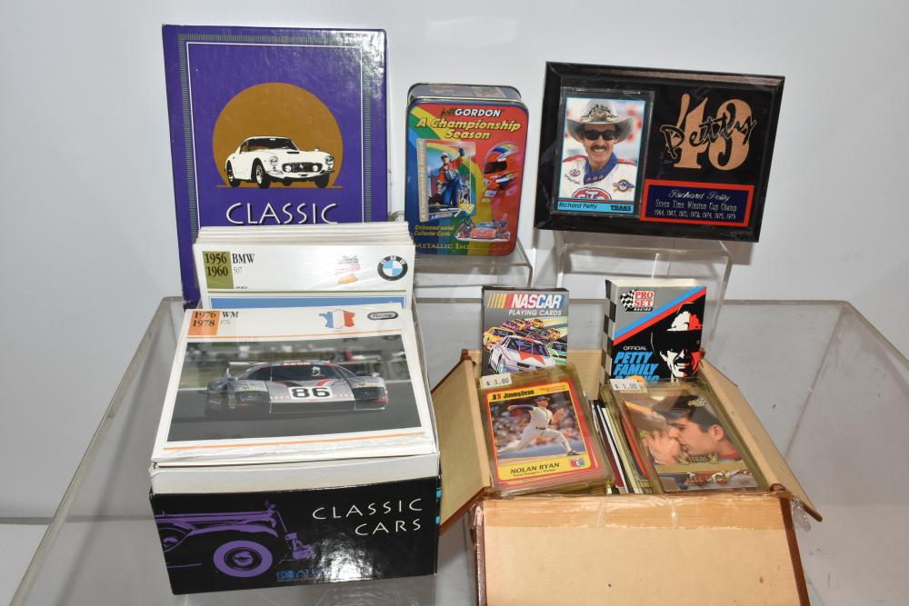 Nascar and Other Racing Collectible Cards