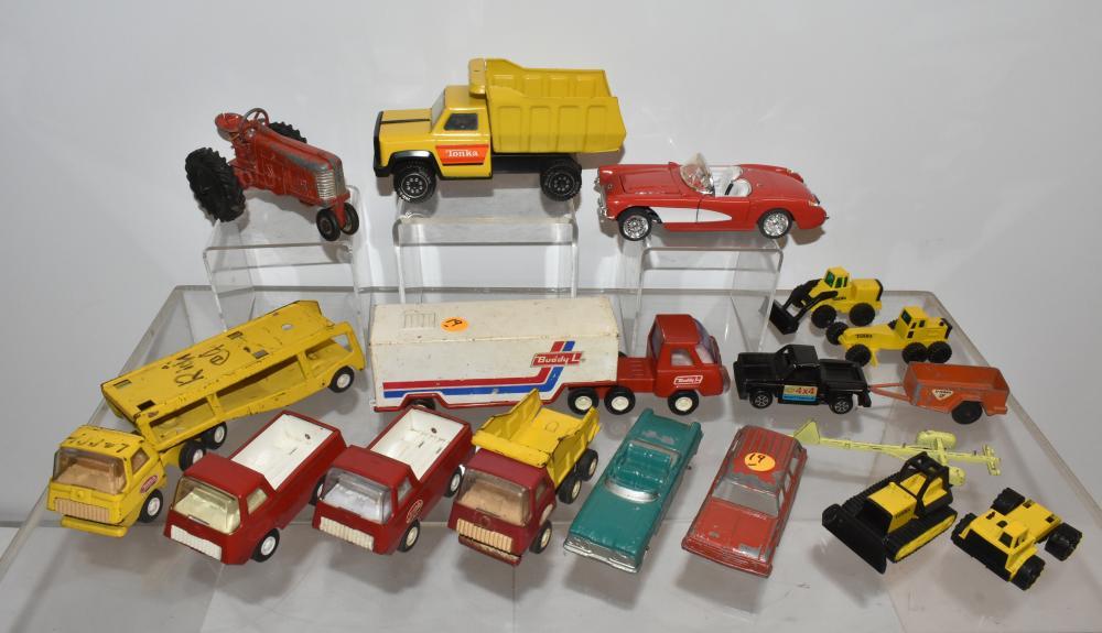 Tonka, Tootsie, and Other Vehicles