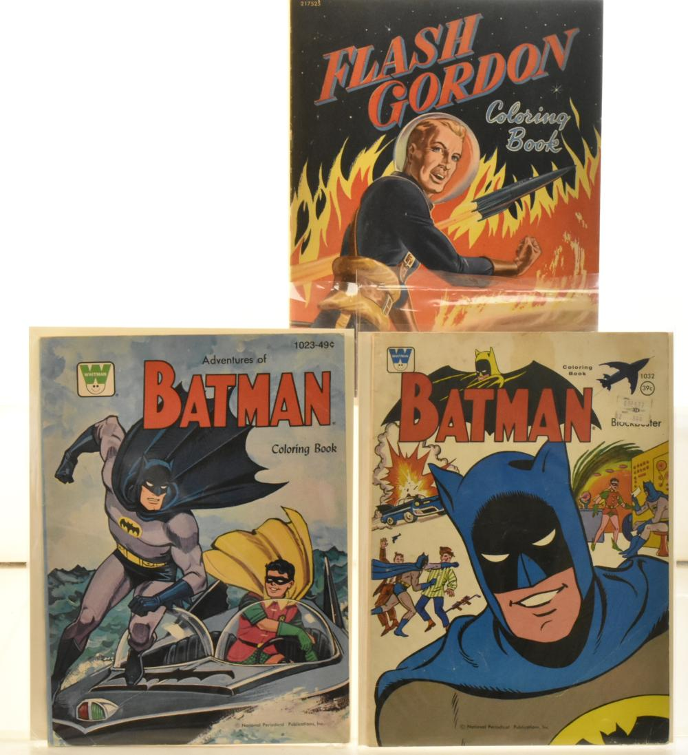 Flash Gordon and Batman Ephemera
