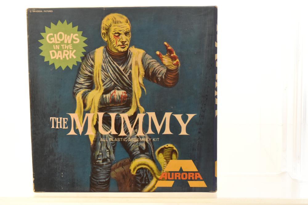 Aurora The Mummy Model 1969
