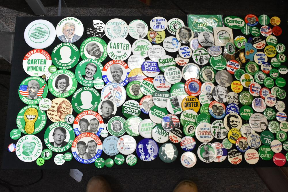 Jimmy Carter and Other Pin Backs
