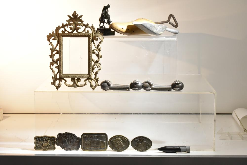 Belt Buckles and Other Brass Items