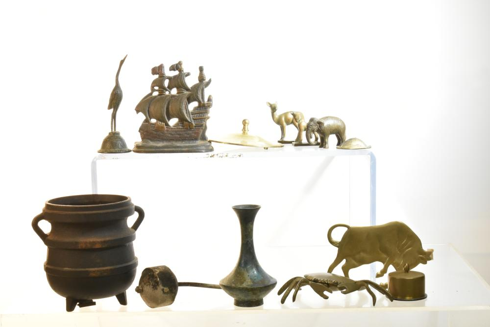 Brass Figures and Related Items