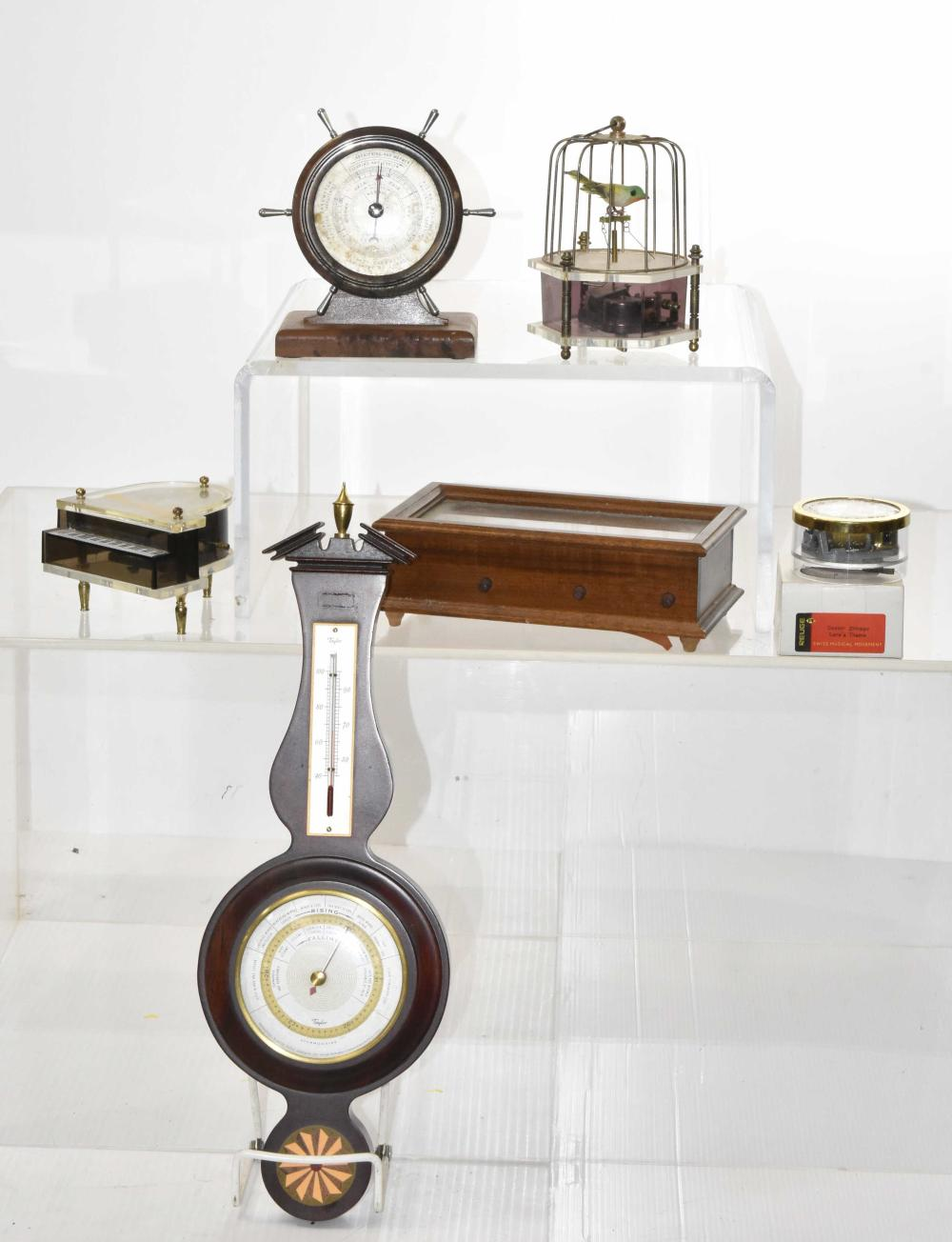 Barometers and Music Boxes