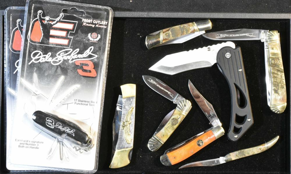 Dale Earnhardt and other Folding Knives