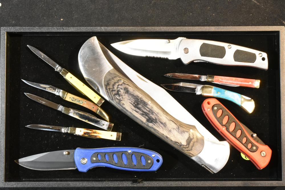 Collection of Folding Knives