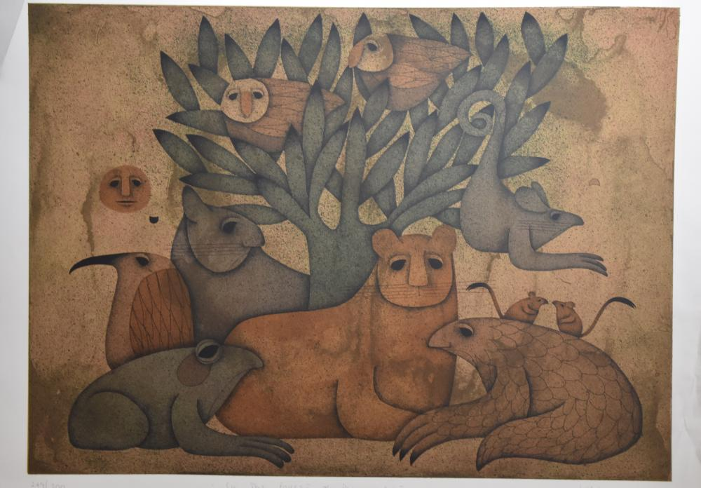 Large Print by Carol Jablonsky (1939 - 1992)