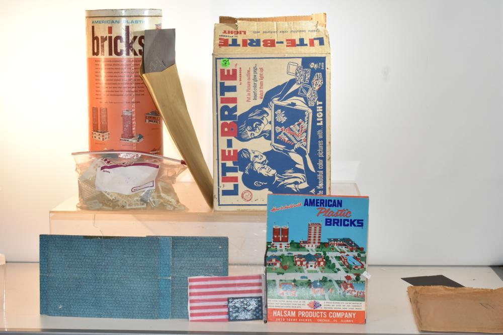 Lite-Brite and American Bricks