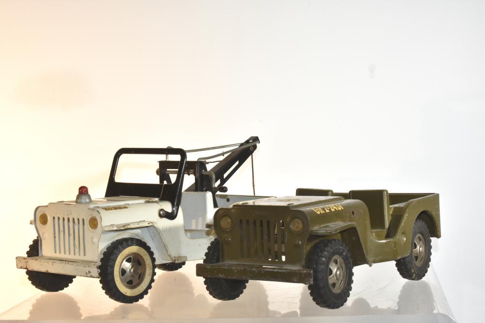 (2) Vintage Tonka Jeeps