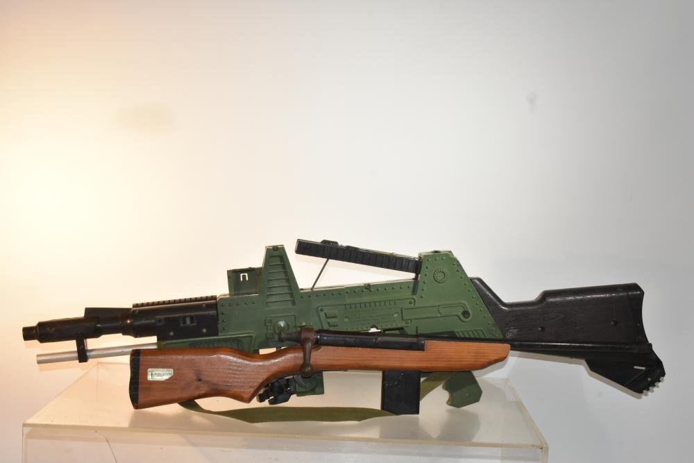 Johnny Seven Tommy Gun and Another