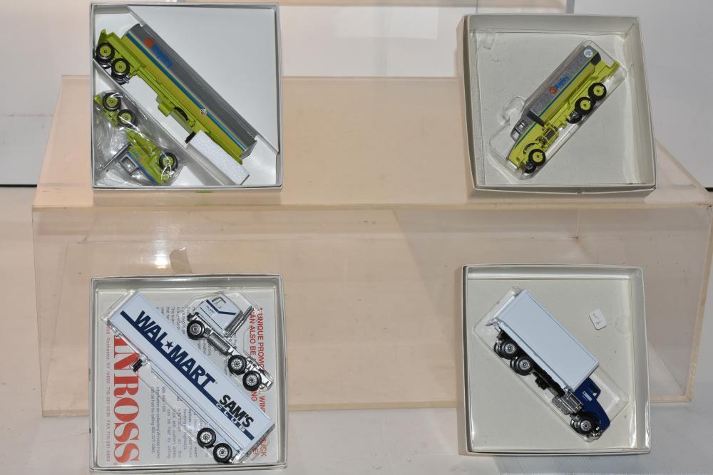 (4) Winross Trucks