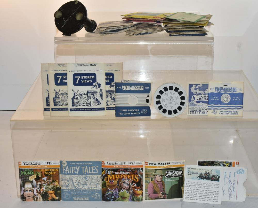 View-Master and Slide Collection