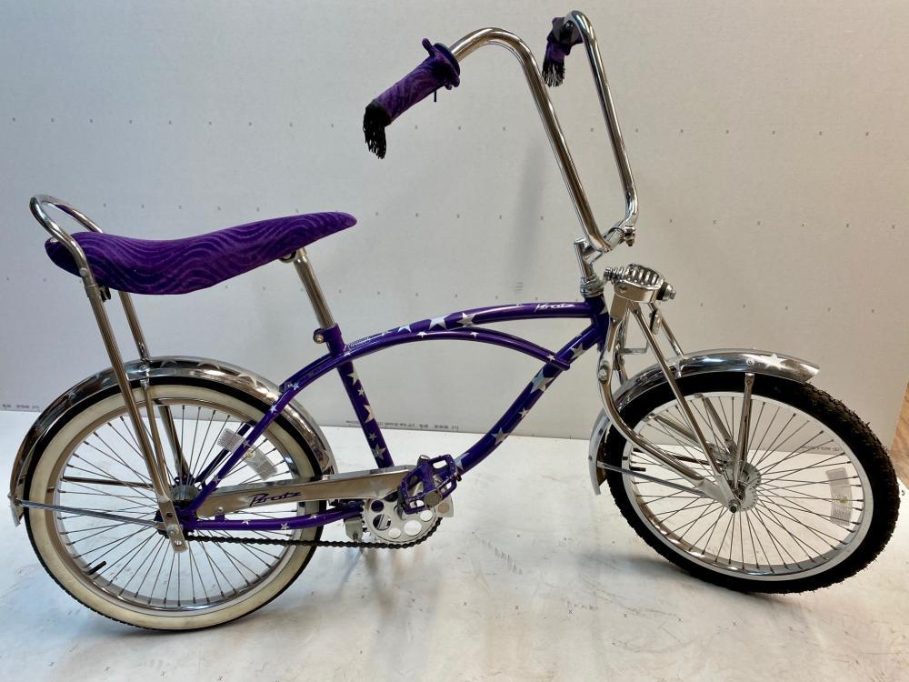 Bratz Purple Muscle Bike