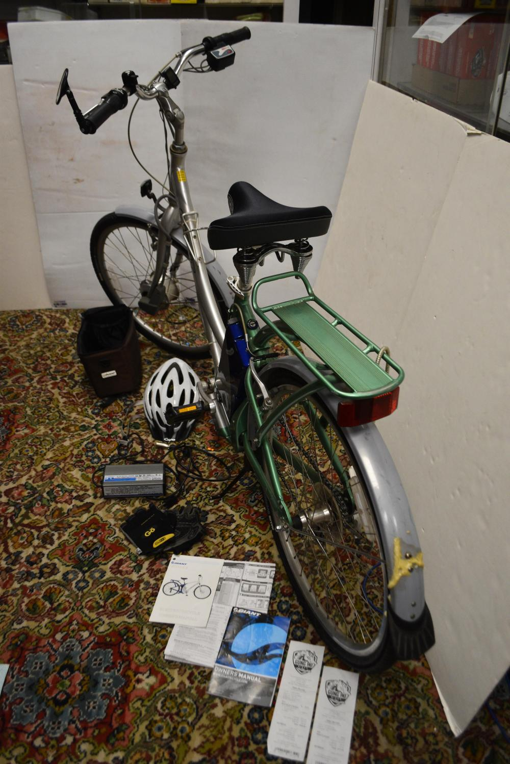 Giant Brand Battery Assist Bicycle