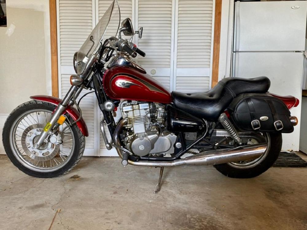2002 Kawasaki Vulcan Motorcycle