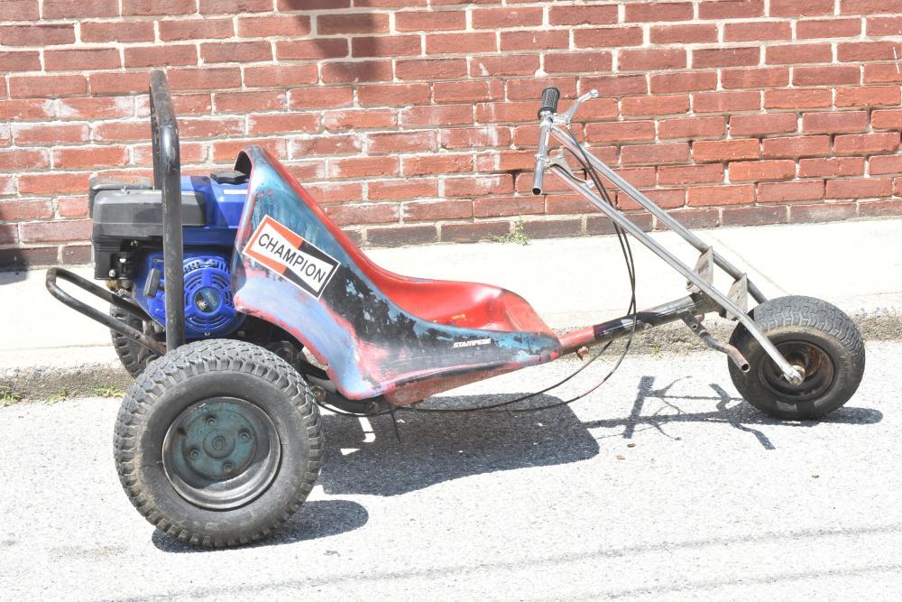 8HP Traxxas Trike Go Cart