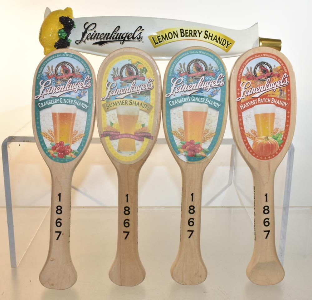 """Leinenkugel's Brewery"" Beer Taps"
