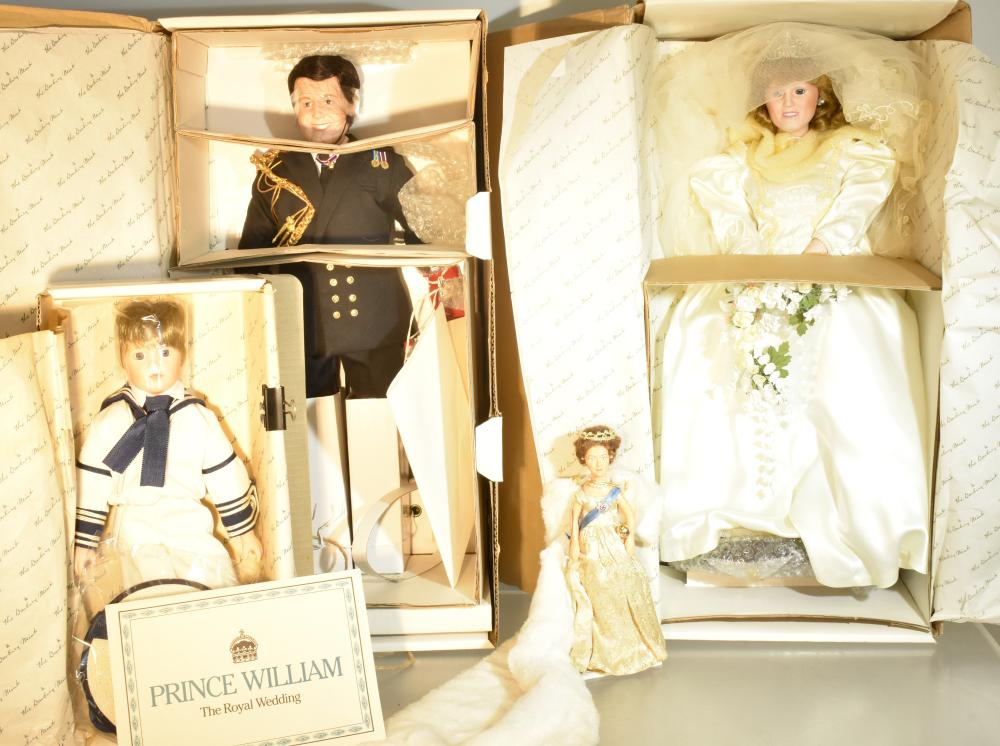 Royal Family Doll Collection