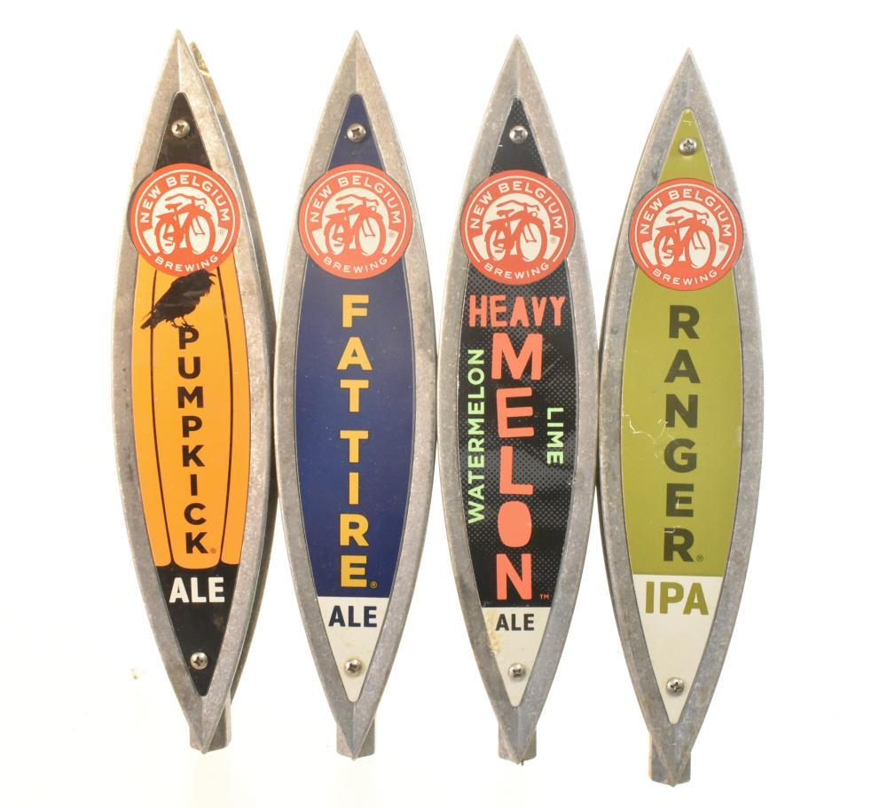 """""""New Belgium Brewing"""" Beer Taps"""