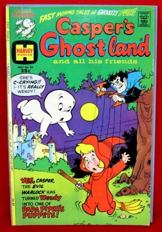 CASPER's GHOSTLAND & ALL HIS FRIENDS