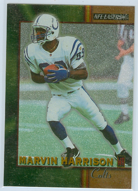 Marvin Harrison Of The Indianapolis Colts 1996 Nfl Lasers