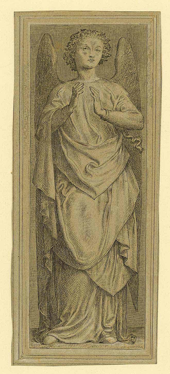 Niessen, Johannes (1821 Köln 1910). Engel.