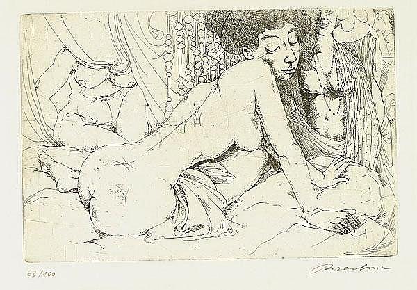 Rosenbusch, Werner (1924 Ulm). Drei weibliche