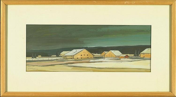 Michel, Pierre: (geb. 1924). Verschneite