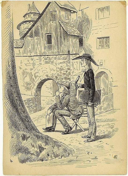 Trost, Friedrich: (1844 Nürnberg 1922). Ansichten,