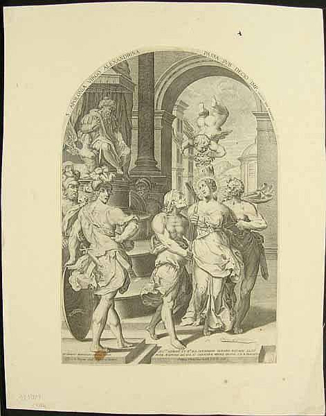 Thomassin, Philippe: (1562 Troyes - Rom 1622).