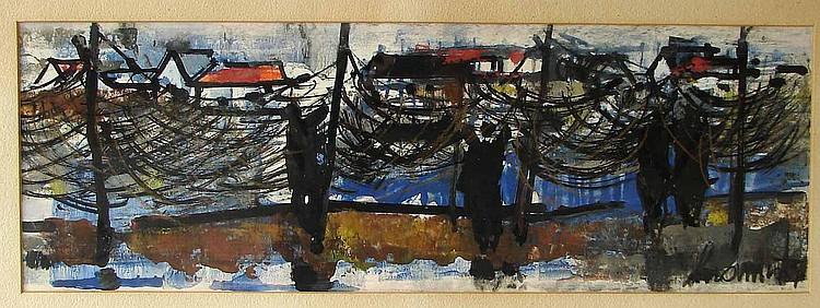 Dermit, Edouard: (1925 Gallignano - Paris 1995).