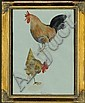 Ungerer, Tomi: (1931 Straßburg). Hahn u. Huhn., Tomi Ungerer, Click for value